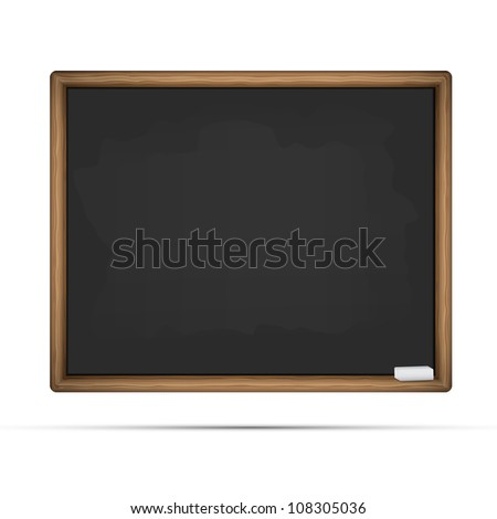 School board vector illustration