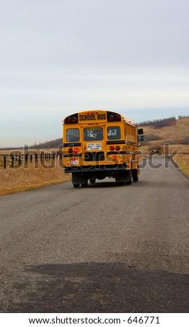 School Bus - stock photo