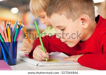 School children. - stock photo