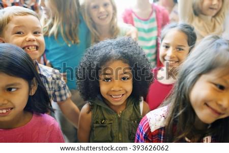 school children cheerful variation concept - Pics For Children