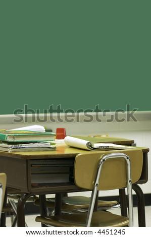 school classroom - stock photo
