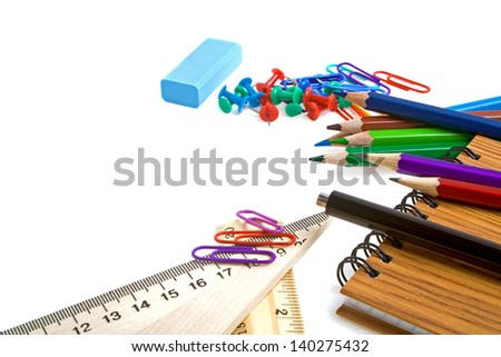 School stationery for school and office