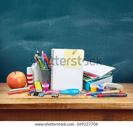 School, studying, isolated. - stock photo