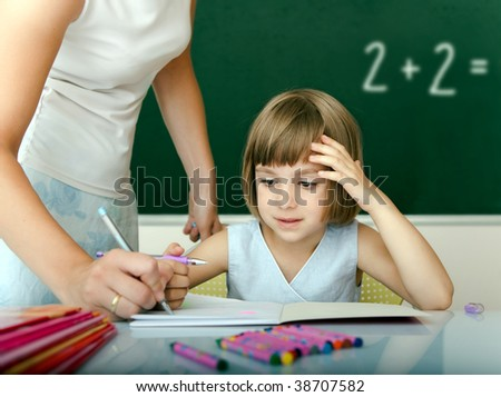 School year - stock photo