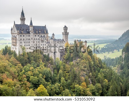 sleeping beauty castle stock images royalty free images. Black Bedroom Furniture Sets. Home Design Ideas