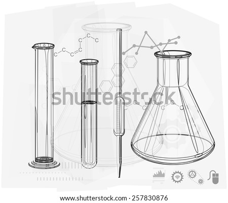 Science Abstract Background - Illustration