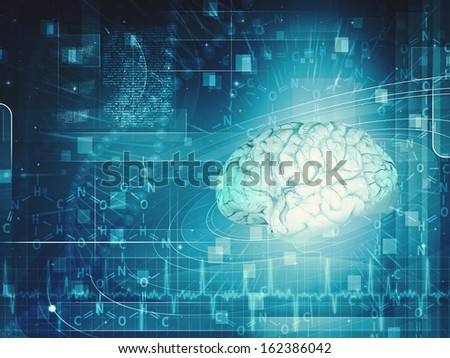 Science and research backgrounds for your design - stock photo