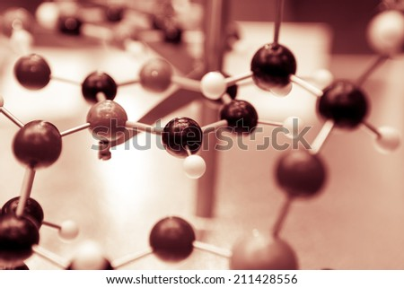 Science Molecular DNA Model Structure, business concept