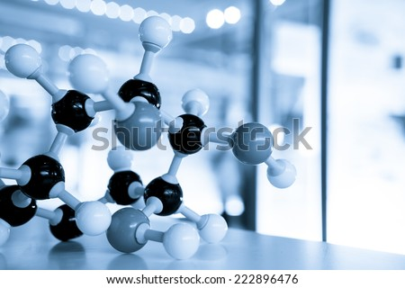 Science Molecule DNA Model Structure, business concept