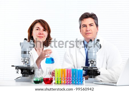 Scientific laboratory workers. Medical research.
