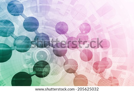 Scientific Progress and Research with New Technologies - stock photo