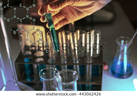 scientist with equipment,science research,science background