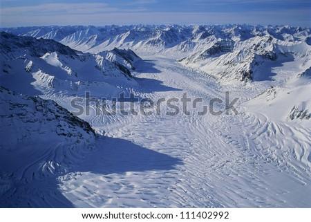 Scoresby sund, Greenland - stock photo