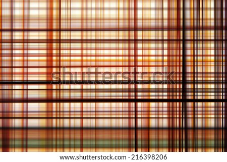 Scotch pattern of abstract background with vibrant colors.