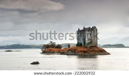 Scotland Castle - stock photo