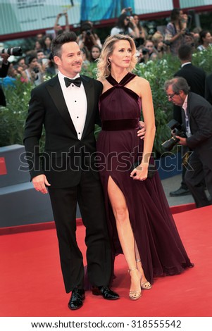 Scott Cooper at the premiere of Black Mess at the 2015 Venice Film Festival. September 4, 2015  Venice, Italy