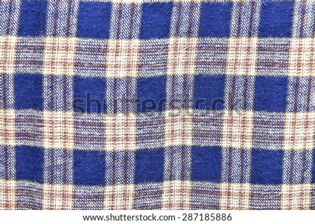 Scottish fabric for pattern background