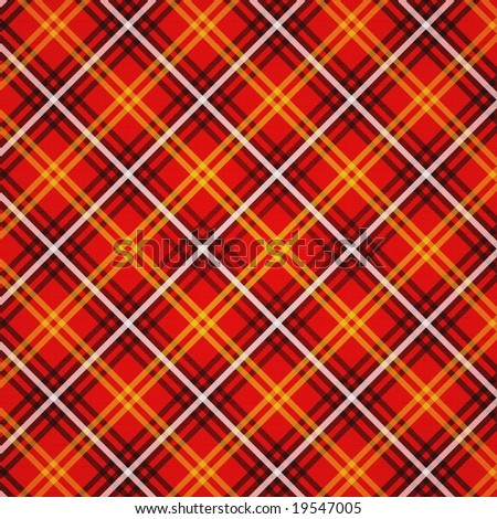 Red Lumberjack Gingham Buffalo Plaid Seamless Stock Vector ...