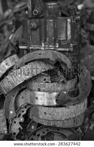 Scrap Equipment - stock photo