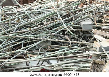 Scrap heap. - stock photo