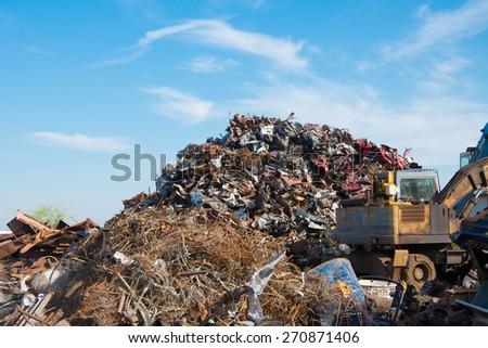 Scrap metals - stock photo