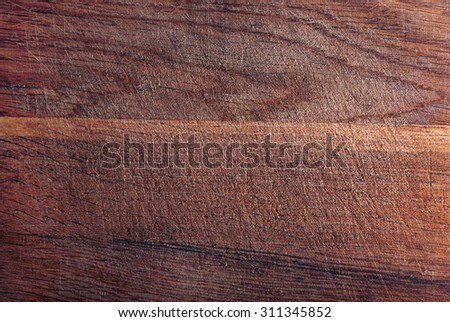 Scratched and used solid wooden texture. - stock photo