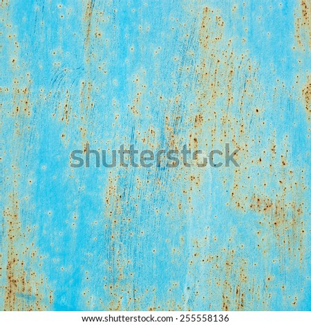scratched blue wall.  dye grunge texture background. dye vintage. design element for 3d - stock photo