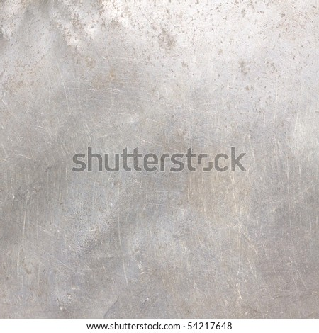 Scratched Grey Textured Abstract with Gradient - stock photo