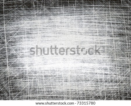 scratched grunge paper texture, background - stock photo