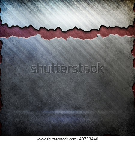 scratched metal background template (big pack) - stock photo