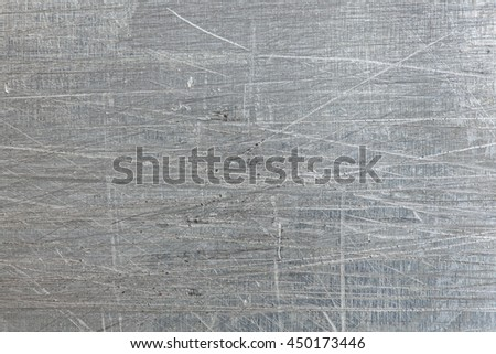 Scratched Metal Texture Background