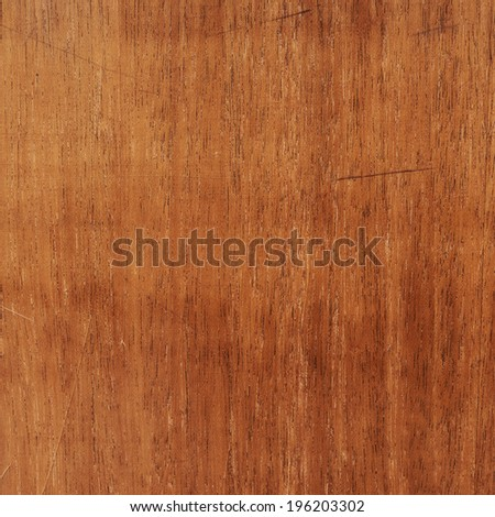 Scratched varnished wood surface composition as a background texture - stock photo