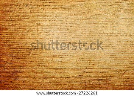 scratched wood texture background - stock photo