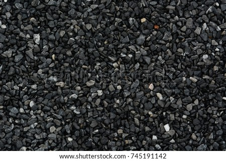 Scree texture background, Crushed grey stone