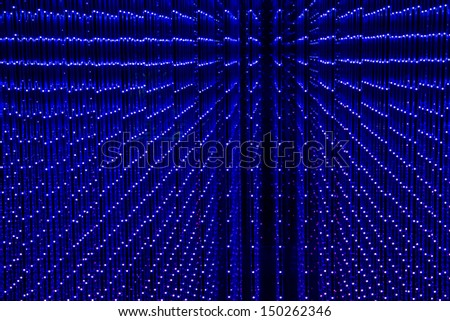 Screen made of multiple LED - stock photo