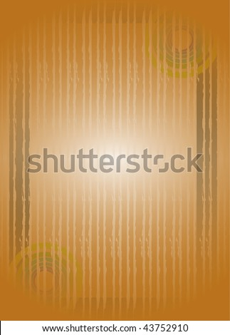 Scroll pattern with grunge ornaments. - stock photo