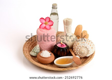 Scrub with Flower of salt, honey and coconut oil, for healthy skin