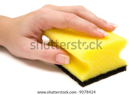 Scrubbing - stock photo