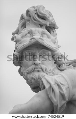 Sculpture in Sanssouci park (Potsdam, Germany) - stock photo