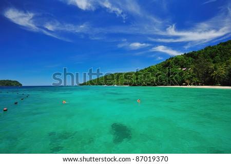 sea and sky 2 - stock photo