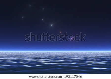 Sea and the Big Dipper