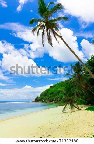 Sea Bay Shore - stock photo