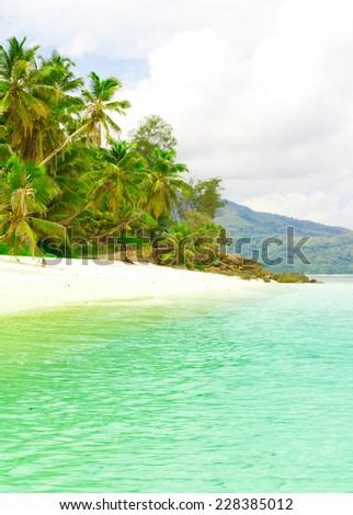 Sea Bay Summertime  - stock photo