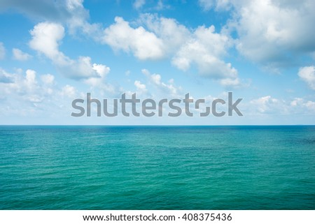 Sea beach or ocean landscape natural background