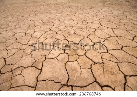sea drought change of  climate heat water - stock photo
