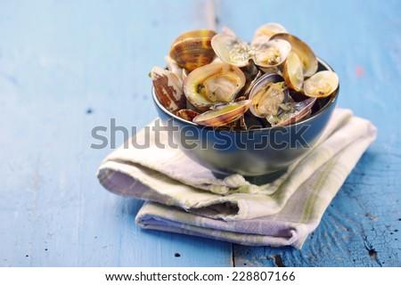 sea food - stock photo