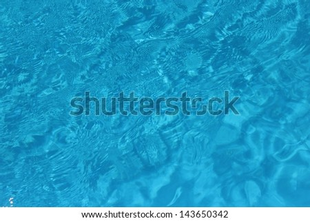 Sea/ocean/swimming pool water surface - stock photo