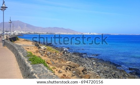Sea of Canary Islands, Spain