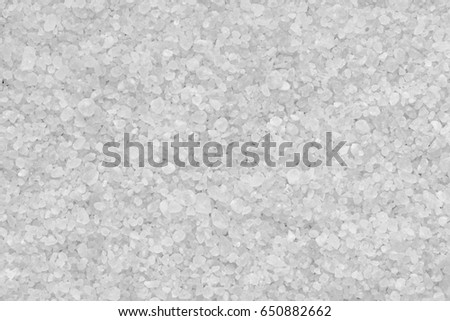 Sea salt texture background. Washed white texture background