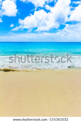 Sea Splashing Tide  - stock photo